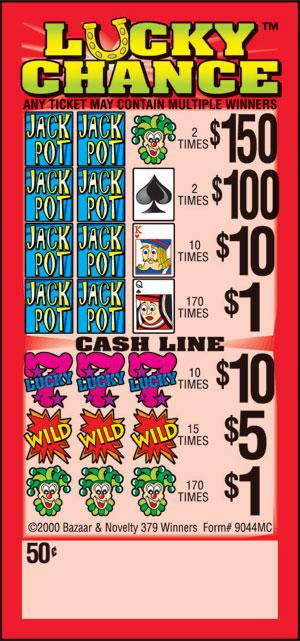 Jackpot slots fast cash ticket